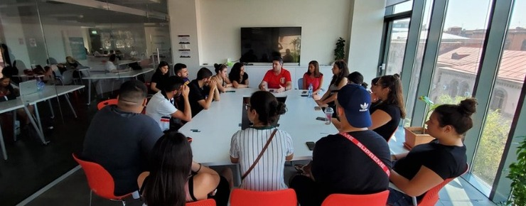 meeting with AYF Canada Camp Vanadzor