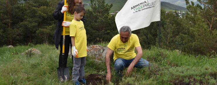Armenia Tree Project Ready to Restore Artsakh's Forests
