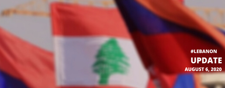 With Armenians in Beirut #LebanonBlast