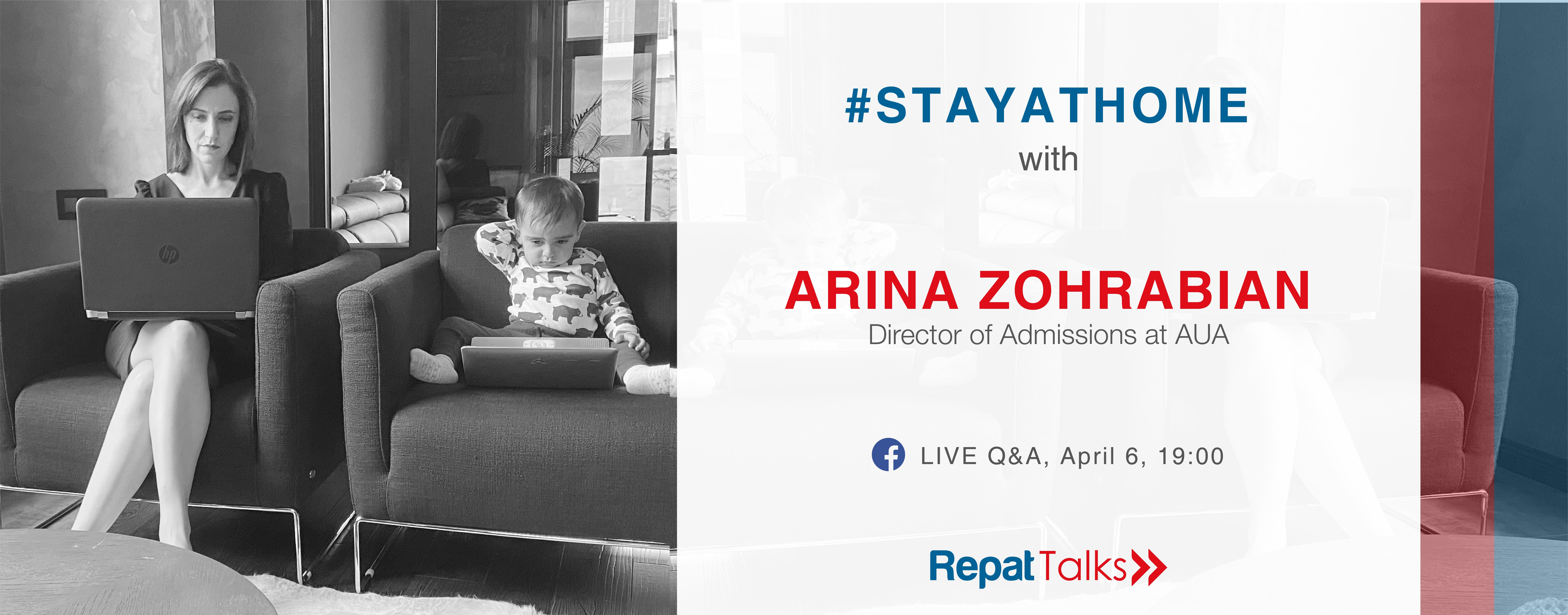 RepatTalks: Stay at Home with Arina Zohrabian